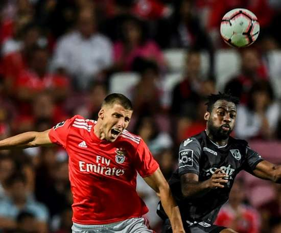 Rúben Dias está na mira do Arsenal. AFP