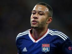 Depay interpelle les autorités du foot après un incident raciste aux Pays-Bas. AFP