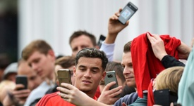 Barcelona do not Coutinho as part of their future plans. AFP