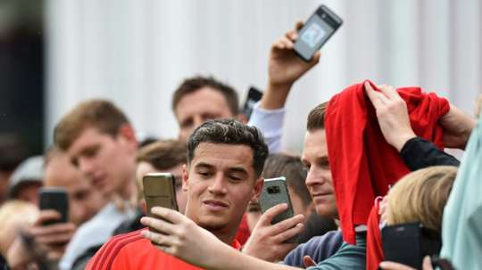 L'Allemagne s'enflamme pour Coutinho. AFP
