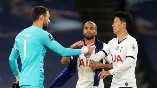 Angleterre: Lloris s'en prend à un coéquipier à la mi-temps de Tottenham-Everton