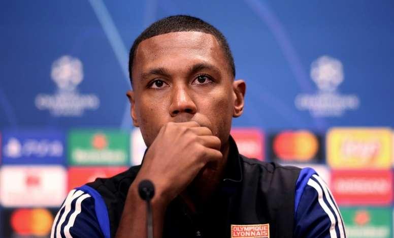 La réponse de Marcelo Guedes aux supporters de Lyon. AFP