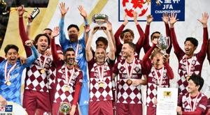 Iniesta gagne encore un titre au Japon. afp