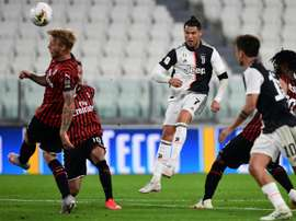 Cristiano Ronaldo's sister hit out at Sarri. AFP