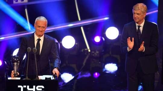 Deschamps, entraîneur de l'année. AFP