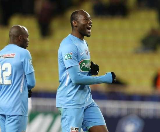 Metz, tenu en échec (1-1) par Troyes. AFP