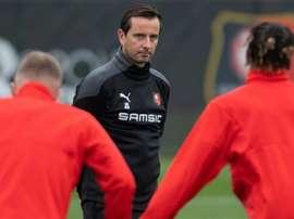 Sursaut exigé pour Rennes, au bord de l'élimination. AFP