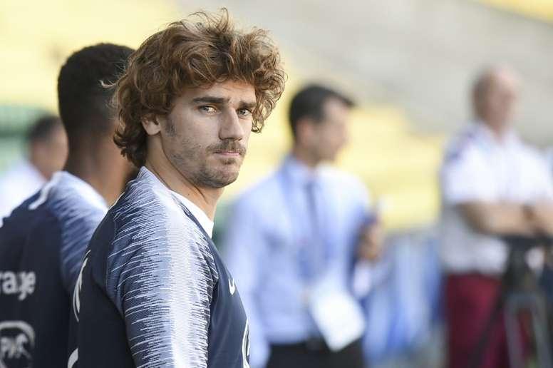 Griezmann afirma que já sabe onde jogará na próxima temporada. AFP