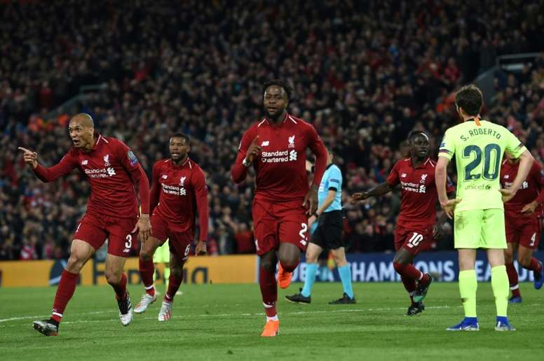 Los cuatro equipos que quieren sacar a Origi del Liverpool. AFP