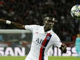 L'Atlético a demandé le prêt d'Idrissa Gueye. AFP