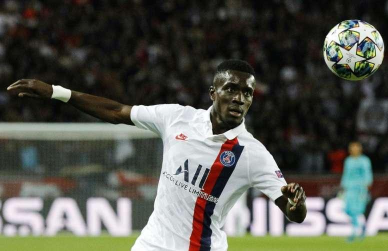Gueye está en el radar atlético. AFP