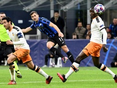 Le match Atalanta-Valence, possible foyer de diffusion du virus. AFP