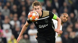 Matthijs de Ligt could be playing Premier League football next season. AFP