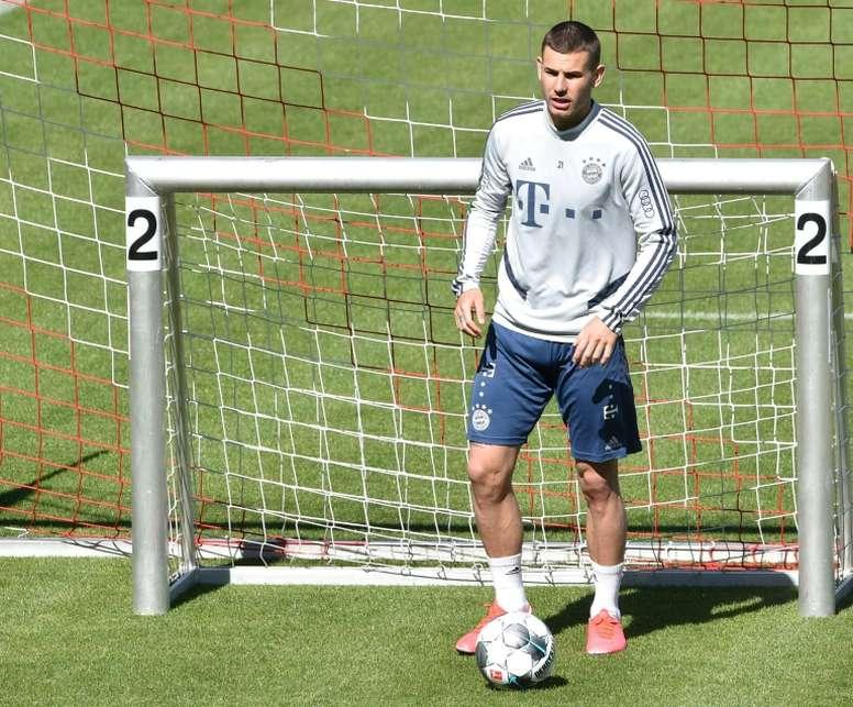 Hernandez au Bayern, 80 millions d'euros sur le banc. AFP