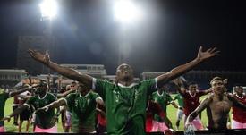 La ilusión por la revelación de la Copa África llega a Barcelona. AFP