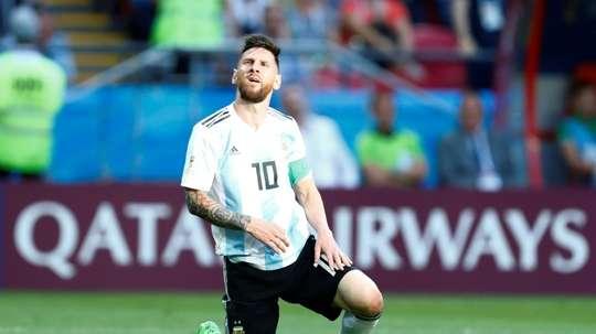 Parece que Messi seguirá en la Selección. AFP