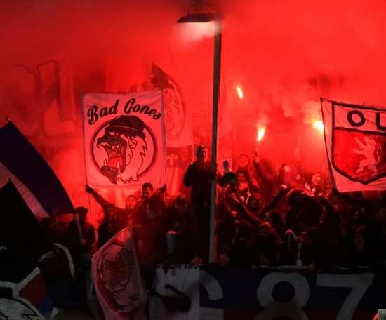 Lyon dédommage Bourg-en-Bresse pour les dégâts causés par ses supporters. afp