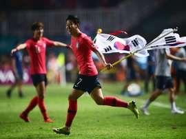 Son falou sobre a Coreia do Sul, Pochettino e seu ídolo. AFP