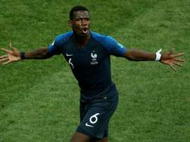Paul Pogba a passé un cap selon Deschamps. AFP