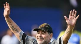 Il mondo del calcio saluta Maradona. AFP