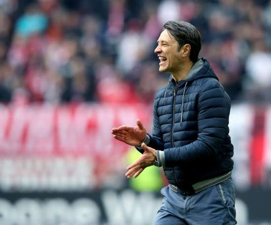 L'entraîneur croate du Bayern Munich, Niko Kovac. AFP