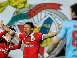 Ruben Dias fait ses adieux à Benfica. afp