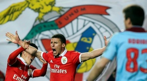 Benfica officialise le transfert de Ruben Dias à Man City. afp