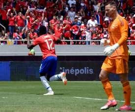Le Costa Rica bat l'Irlande du Nord. AFP