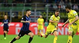 La oferta del Nápoles por Politano parece seducir al Inter. AFP