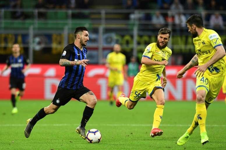 El Inter adquirirá a Matteo Politano. AFP