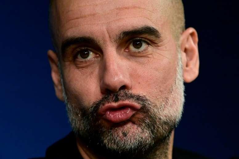 Guardiola doa um milhão de euros na luta contra o COVID-19. AFP