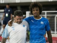 Luiz Gustavo, absent deux semaines. AFP