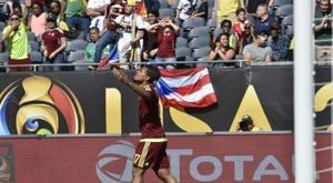 Josef Martínez se está adaptando a las mil maravillas al fútbol norteamericano. AFP/Archivo