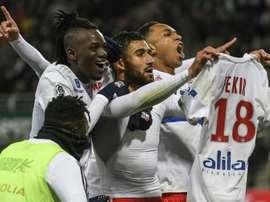 Nabil Fekir répétera t-il son geste lors du derby face à Séville ? AFP