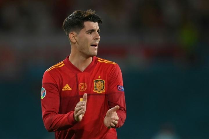 L'Espagne plombée par les attentes selon Morata. AFP