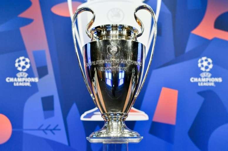 Novedad importante para el sorteo de Champions. AFP
