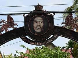L'entrée du musée Bob Marley Museum à Kingston. AFP