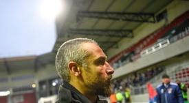 El ex culé Larsson, cerca de dirigir a un Tercera de Inglaterra. AFP