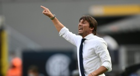 Antonio Conte menace de partir. AFP