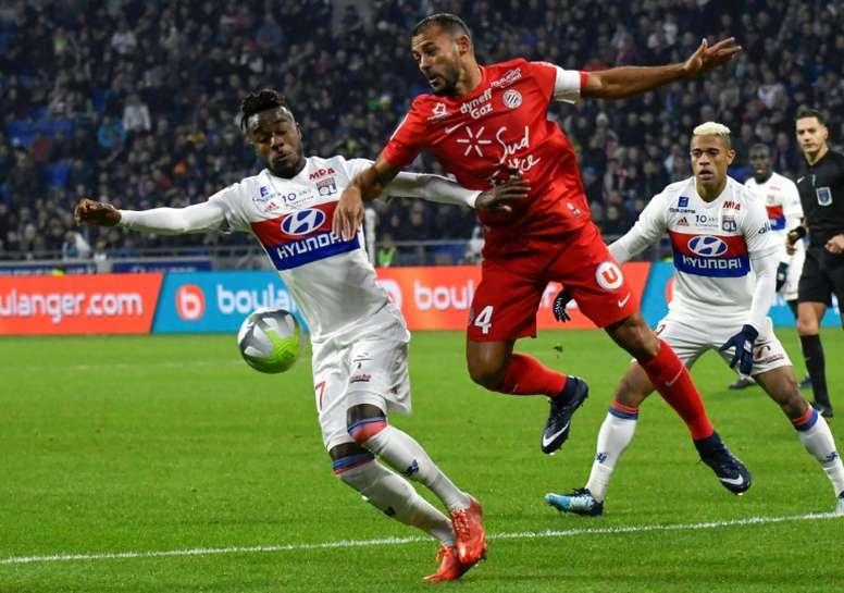 Lyon se rend à Montpellier. AFP
