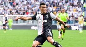 La Juventus conquista i tre punti. AFP