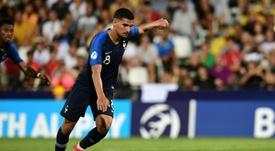 Aouar de retour contre l'Espagne, pas Dembélé. AFP