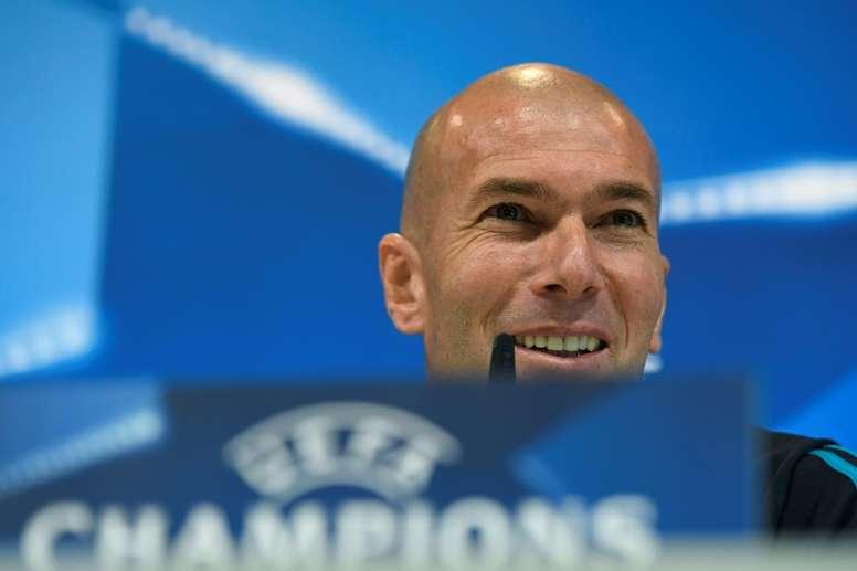 Zidane reste calme. AFP