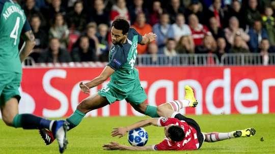L'international belge de Tottenham Mousa Dembélé. AFP