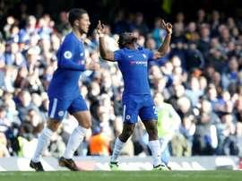 Batshuayi scored a brace to secure Chelsea's win. AFP