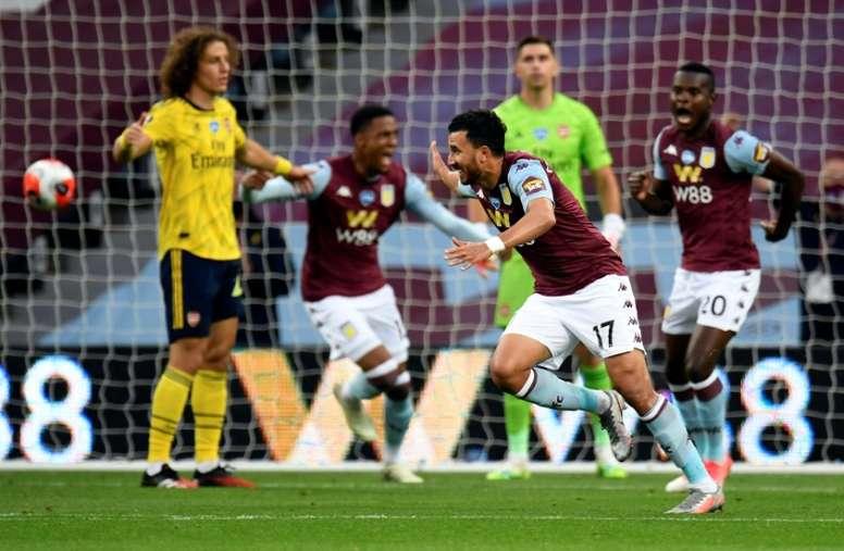 El Aston Villa se habría asegurado ya la llegada del meta. AFP