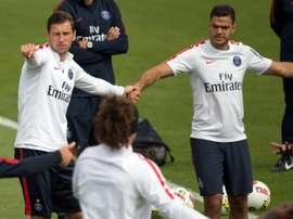 PSG leave players behind. AFP