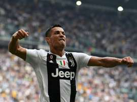 Cristiano Ronaldo says he feels at home in Turin with Juventus. AFP