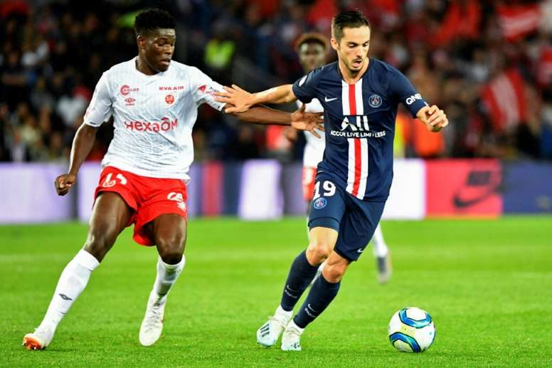 Sarabia évoque son adaptation à Paris. AFP