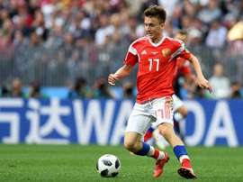 Chelsea are hoping to poach CSKA Moscow's Golovin. AFP